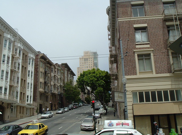 Lower Nob Hill Apartment Buildings