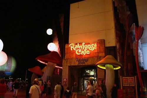 Rainforest Cafe Disneyland Allergen Menu