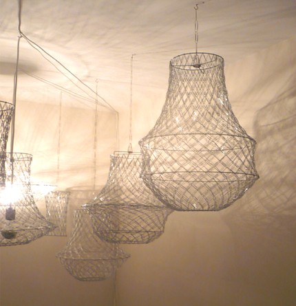 Paperclip chandelier its great to be home flickr paperclip chandelier by its great to be home aloadofball Gallery