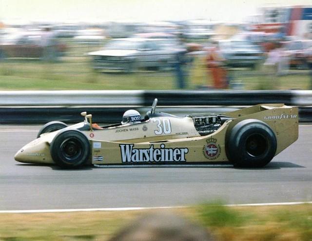 1979 Arrows A2 Jochen Mass Jochen Mass Qualified