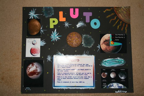 Pluto Project My Daughter Often Has Poster Projects At