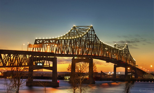 Mississippi River Bridge - Baton Rouge, LA | by todd landry photography