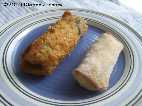 Egg Rolls: One Baked, One Fried | by Dianne's Dishes