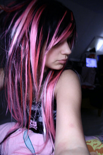 To acquire Pink and Blonde scene hair pictures picture trends