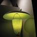 chartreuse fiberglass vintage lamp