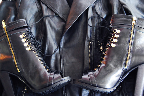{leather} | by {Jessica Louise}