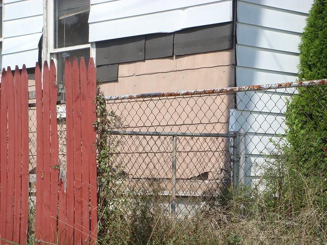 Aluminum Siding Scavenged Asbestos Shingles Flickr