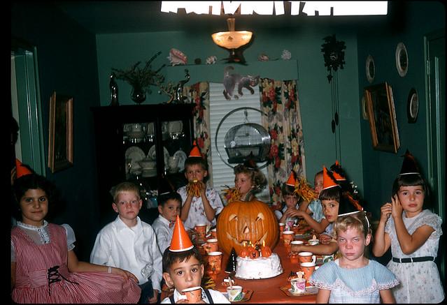 Vintage Halloween Birthday Party