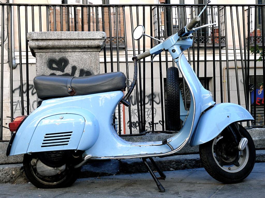 Vespa Primavera Blue Llll 150 I Get Abs Blu Midnight Bogor Celeste Pale T3 125