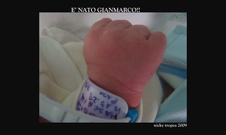 E' NATO GIANMARCO!!! GIANMARCO IS BORN!! | by nicky tropea
