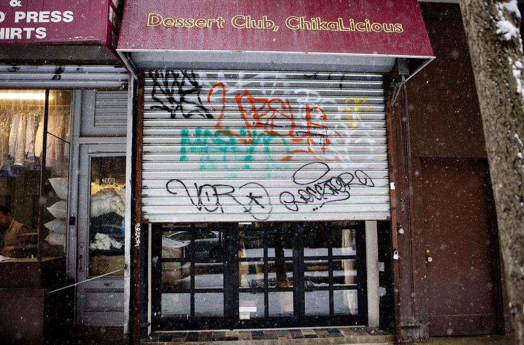 Storefront Metal Gates...