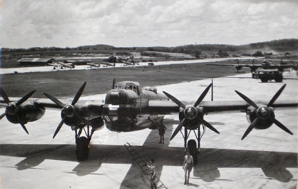 British Avro Lincoln Bombers At Clark Air Force Base Phili