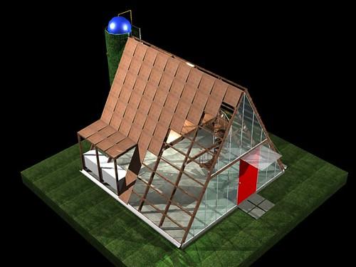 Casa ecol gica prefabricada img 10 el art fice i igo - Casa ecologica prefabricada ...