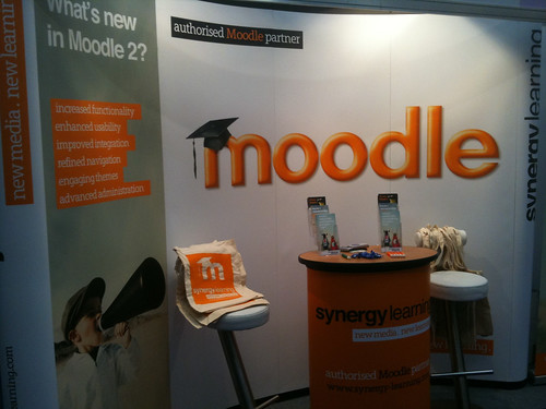 BETT Show 2010 - Moodle (Synergy Learning) stand | by jonnymcalister