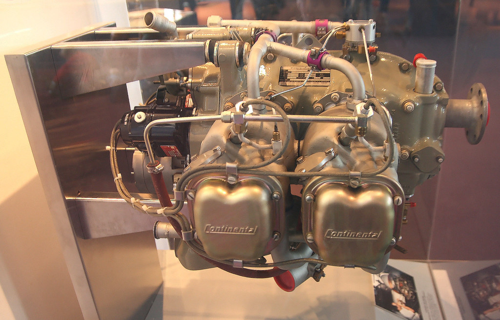 Continental - Teledyne 200 hp Engine s | This modern horizon
