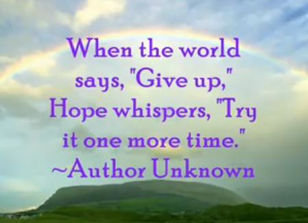 Inspirational Quotes About Hope Inspiring Quotes on Hope | Inspiring