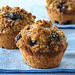 Whole Wheat- Blueberry Muffins