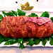 Bacon Wrapped Hungarian Meatloaf by Helen M. Radics