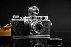 Leica III with Elmar 50 and Rangefinder | by Guido Frizzoni