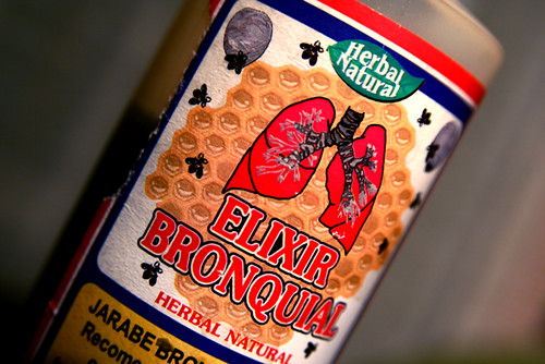 Cough Syrup Elixer Bronqial Herbal Natural 10-26-09 -- IMG_9280 | by stevendepolo