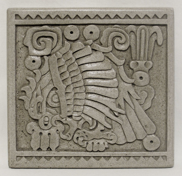 Aztec Tile Aztec Inspired Tile Carved From Stone Approx