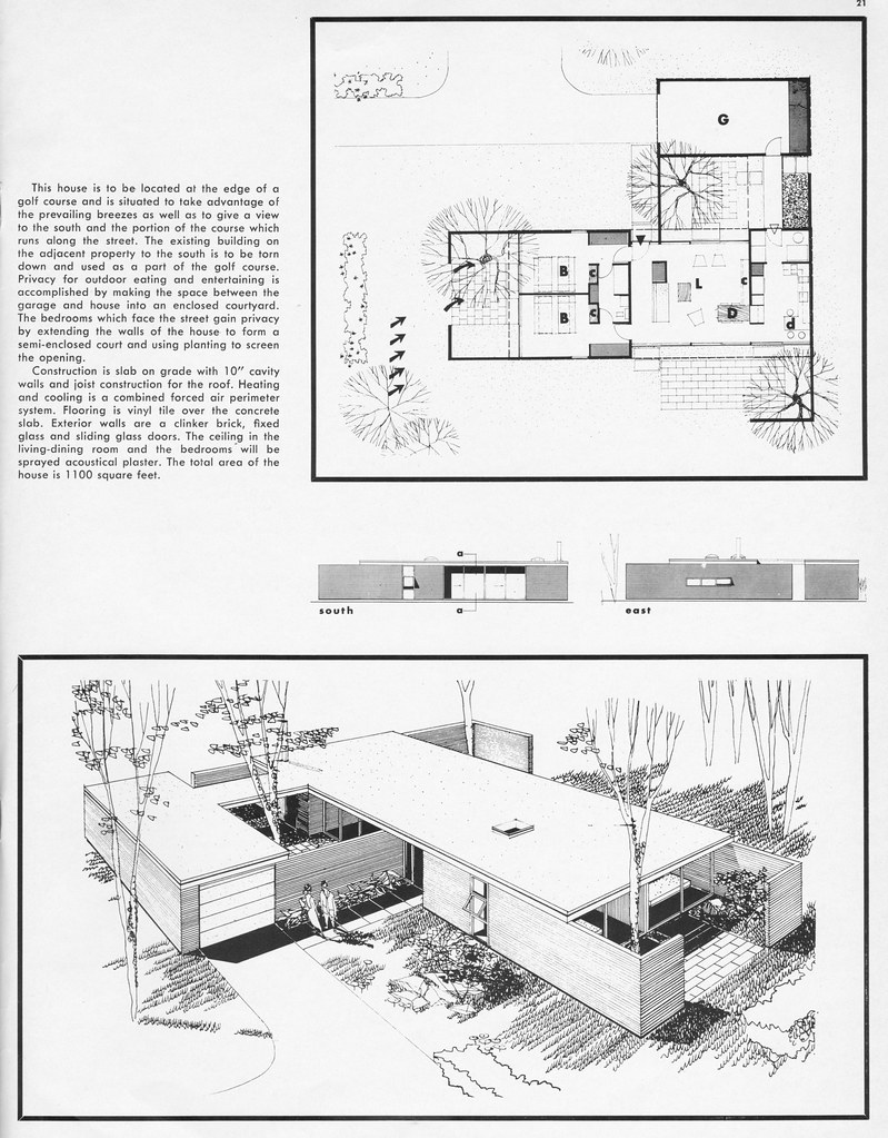 Home plans by richard e baringer 2 from arts architect flickr At home architecture gordes 84