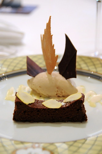 chestnut and flourless chocolate cake with rum ice cream | by sunday ...