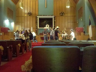 Rehearsal for the wedding, hats and all. | by aarontraffas