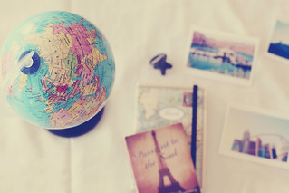 everyone wishes to travel. | by Kristine May.