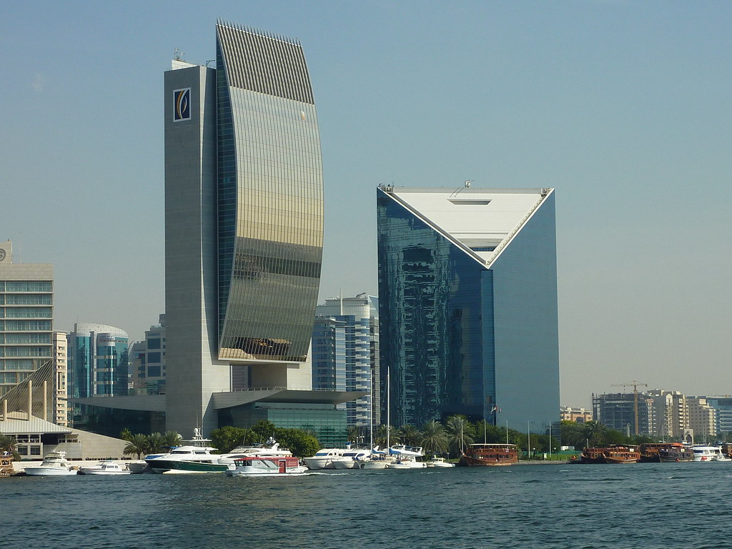 ... National Bank Of Dubai Building, Dubai Creek | By Kfcatles Design Ideas