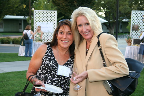 attendees enjoying Taste of the Region | by UC Davis Arboretum & Public Garden
