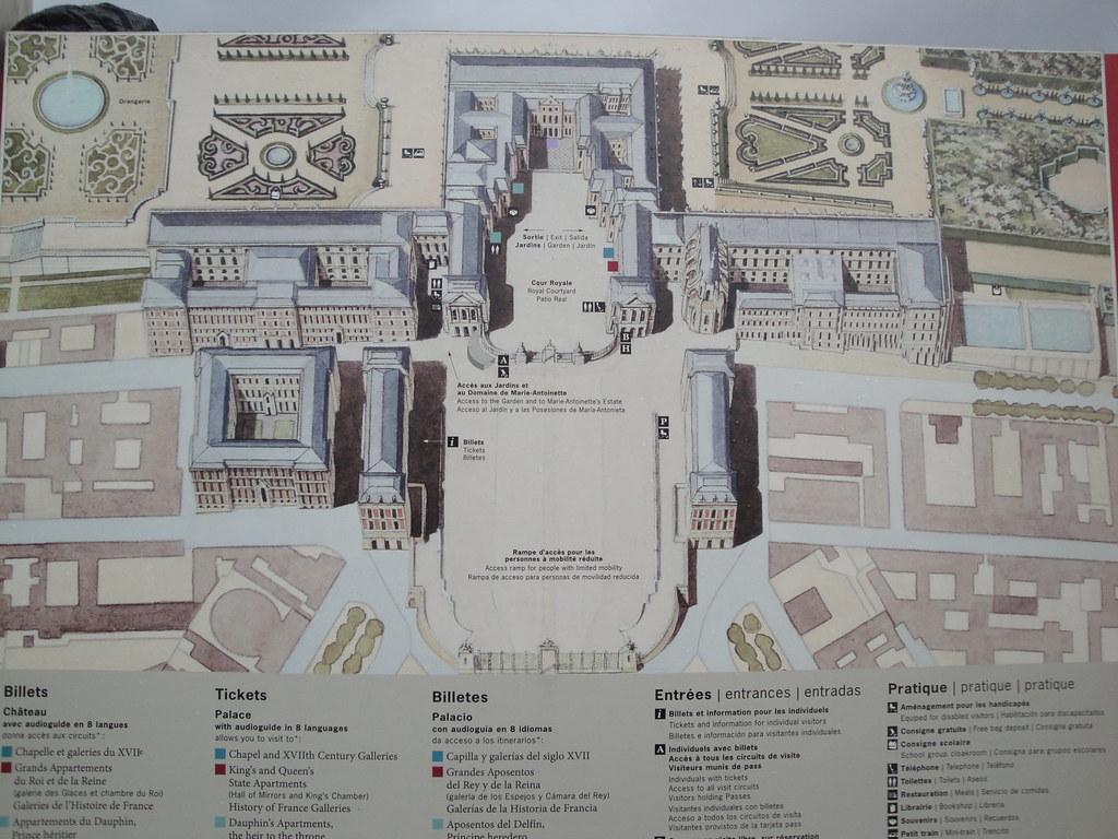 Chateau Versailles map Jen Wen Luoh Flickr