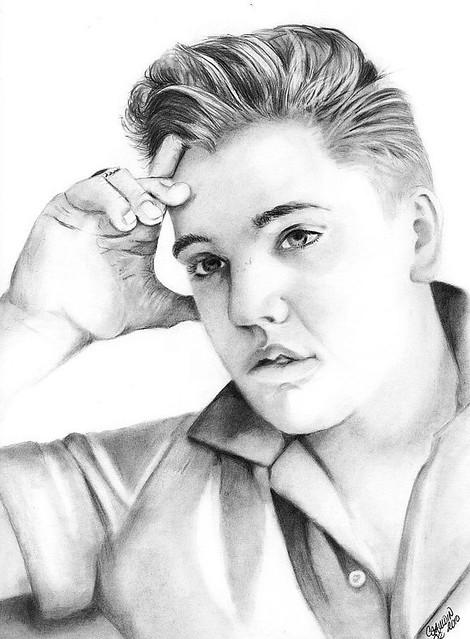 Elvis Short Hair