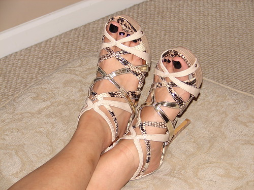 The sexy feet of laurie lusty from becky039s boutique in nyc - 1 9