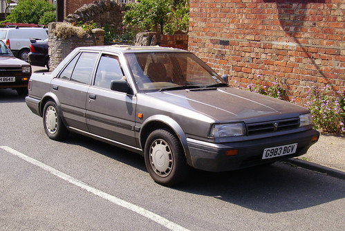 1990 Nissan Bluebird 1.6 4dr (T72) 2006 | Suffolk registered ...