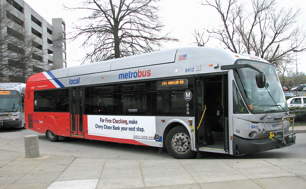 New Carollton Wmata Bus 6412 Electric Beechwood