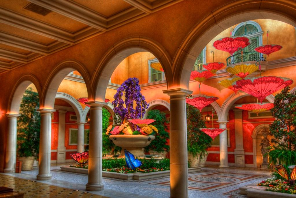 Courtyard At The Bellagio Courtyard At The Bellagio