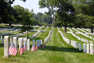 Flags In, Arlington National Cemetery | by BrianMKA