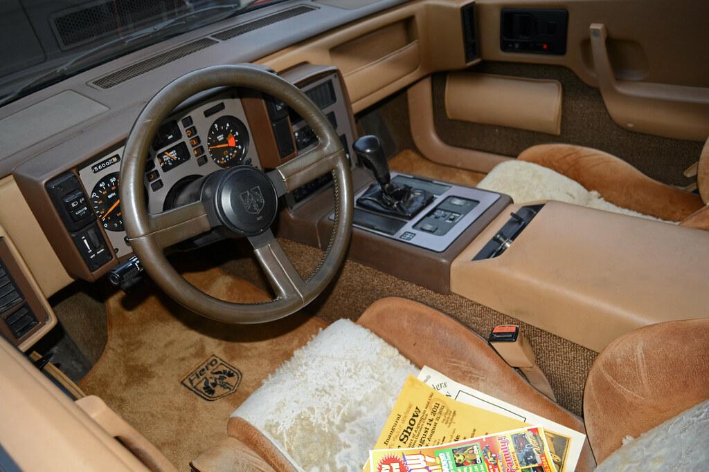 1984 Pontiac Fiero Se Interior Is In Great Shape Aside Fro Flickr