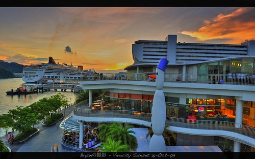 Vivocity Sunset (SG) - 17-Oct-09 | by  Bryan aka Numnumball ~**