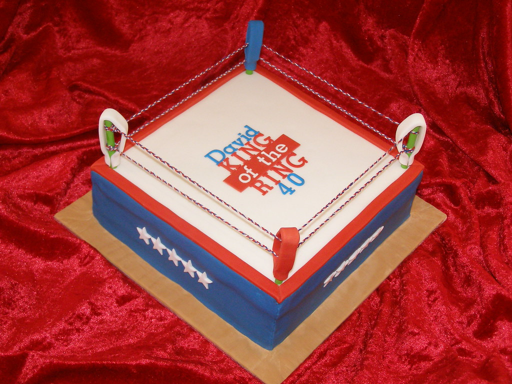Boxing Birthday Cake Ideas