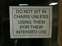 You mean, like, sitting? | by passiveaggressivenotes