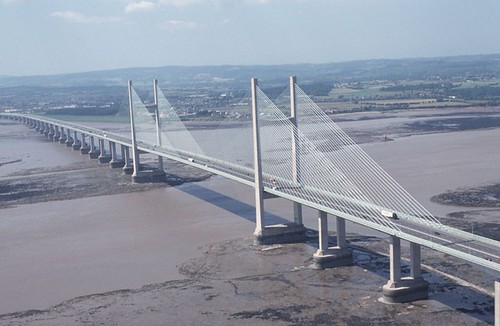 The Severn Bridge | The main route into Wales from England ...
