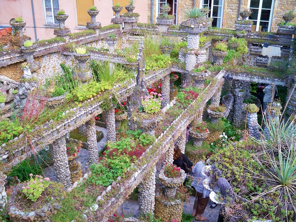 Jardin rosa mir lyon linouka flickr for Jardin couvert lyon
