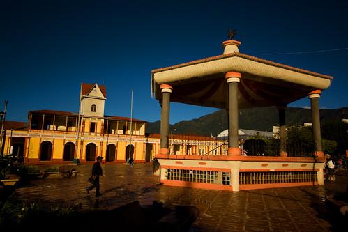 Parque Central San Pedro Sacatepequez, San Marcos