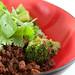 broccoli & ground beef