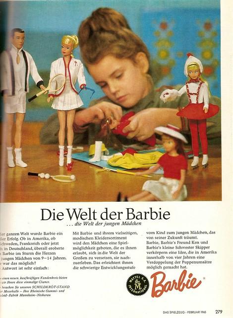 1965 barbie ken und skipper flickr photo sharing. Black Bedroom Furniture Sets. Home Design Ideas