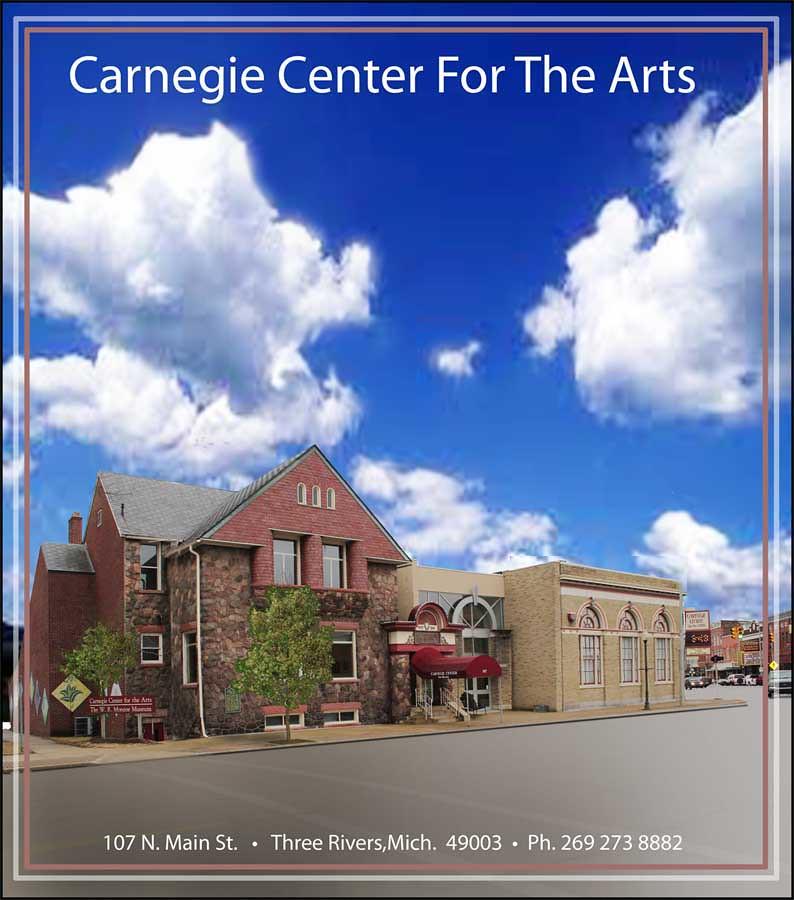 Three Rivers Michigan: Carnegie Center, Three Rivers MI