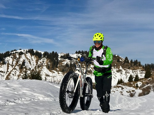 Jamie from Ride the Alps is all grins!