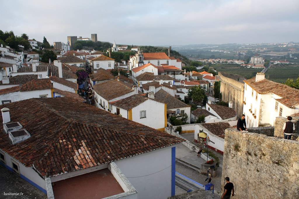 Vue panoramique de Obidos